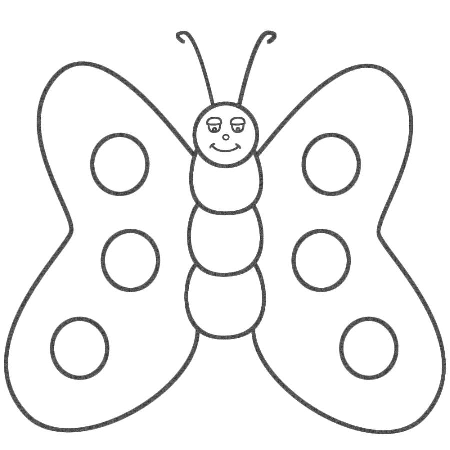 Dibujos de mariposas infantiles :: Imágenes y fotos