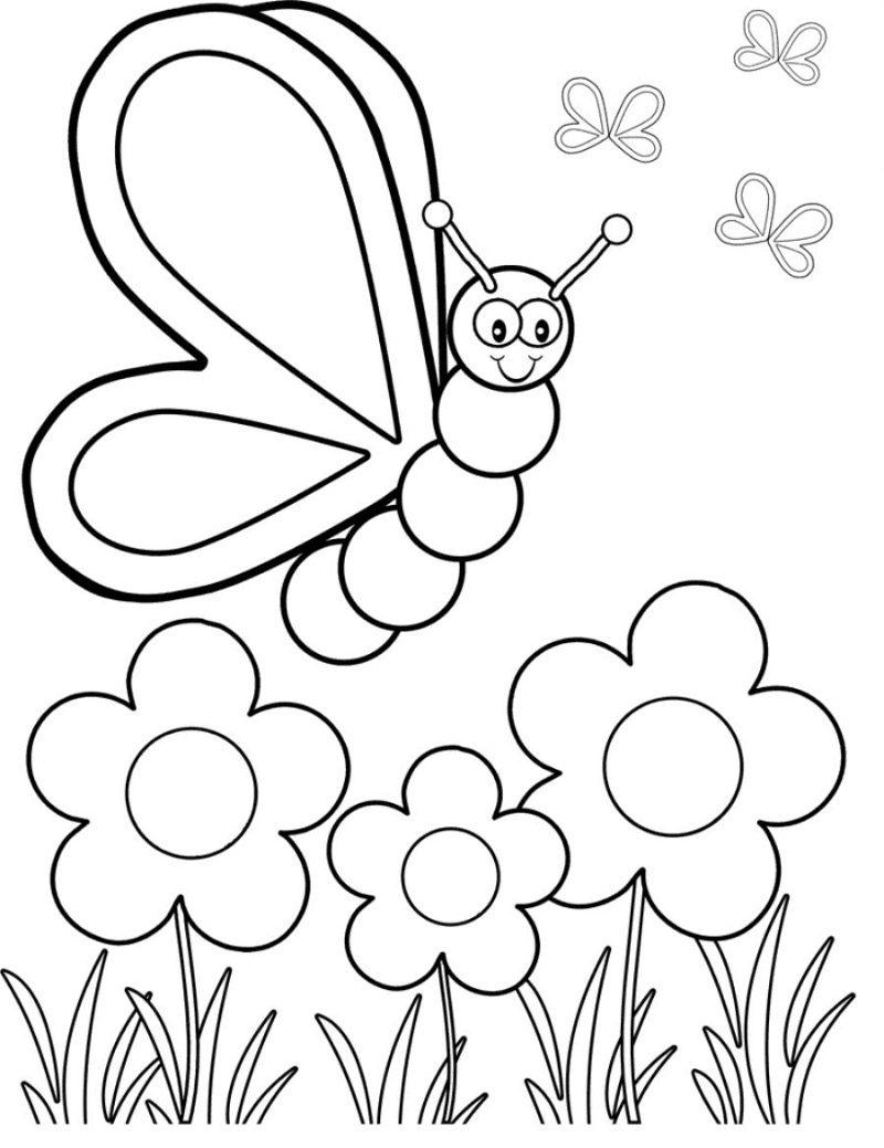 Galeria De Imagenes Dibujos De Mariposas Para Colorear
