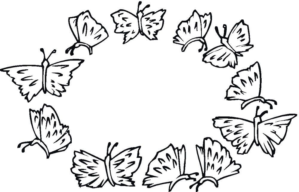Dibujos De Mariposas Im 225 Genes Y Fotos