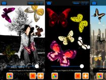 Crear fotos de mariposas en iPhone